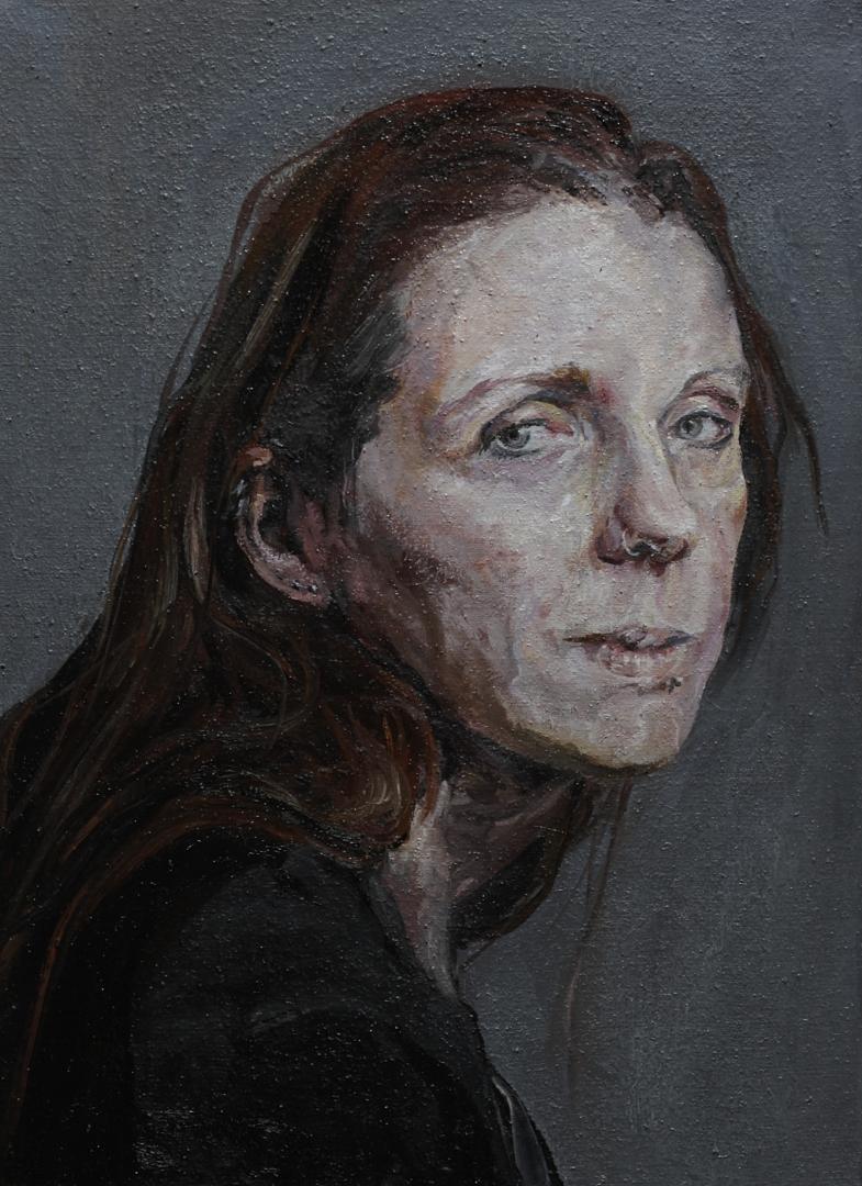 Oer-1 olieverf op linnen 40 x 55 cm Paul Legeland Portret kunst art